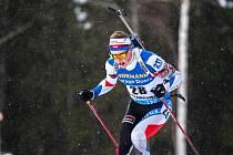 Jakub Štvrtecký ve Světovém poháru biatlonistů v Östersundu