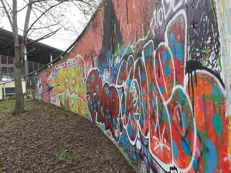 Ostudy Zlína: Graffiti.