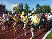 Běh olympijského dne ve Zlíně červen 2017