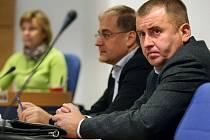 Karel Fuksa (vpravo).