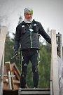 Jaroslav Vicher na závodě 24 hodin na Lysé hoře