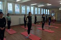 Cvičení Pilates v Astře