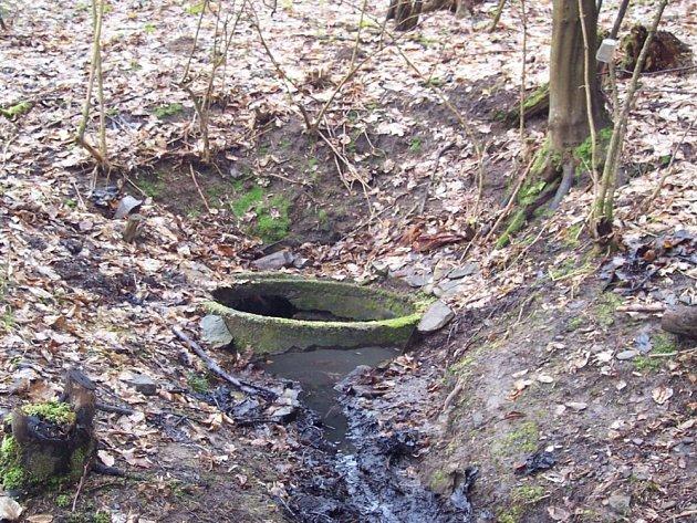 Oprav se dočká i studánka, která se nachází v listnatém lese asi 300 metrů na západ od dětského tábora v Hutích.