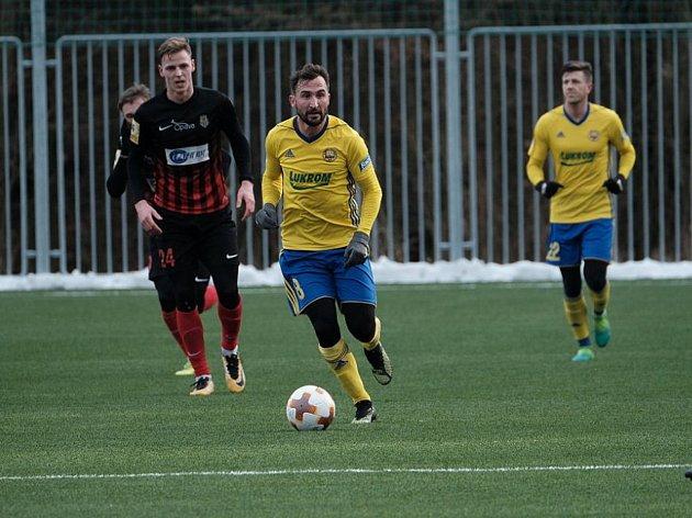 Fotbalisté Zlína v úvodním sobotním přípravném zápase přehráli druholigovou Opavu 2:0.