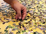 Podaří se světový rekord? Největší puzzle zabere polovinu sportovní haly