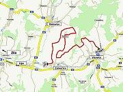 6. a 9. RZ ZÁDVEŘICE (14,82 km) - v sobotu v 13.20 a 17.34 hodin