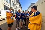 Hokejoví Berani do nadcházejícího ročníku nejvyšší soutěže vstoupí s novými dresy. V průběhu ročníku by měla být představena také třetí a charitativní sada, obě verze jsou plánovány na letošní podzim.