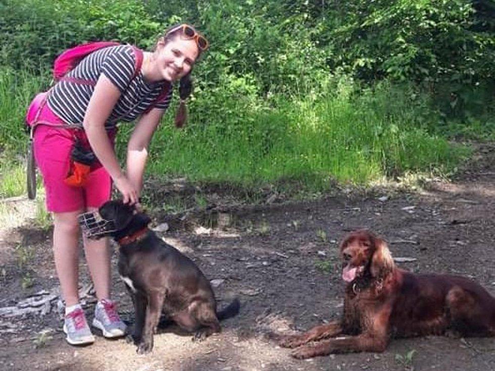 Natálie s Justym a Tinou