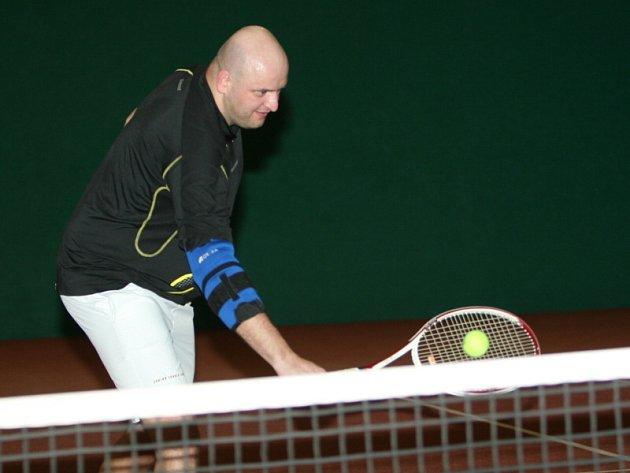 Tenista Michal Výmola.