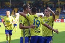 Fotbalisté Zlína ve 3. kole FORTUNA:LIGY zvítězili nad Teplicemi 3:0.