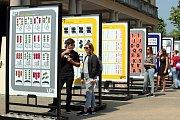 Zlín Design Week 2018. Studenti prostorové tvorby Fakulty multimediální komunikace UTB připravují výstavu Prostor je hra  před zámkem ve Zlíně.