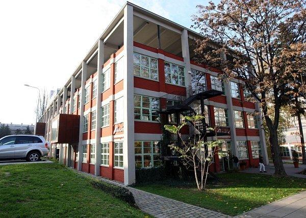 23. budova podnikatelský inkubátor vtovárním areálu ve Zlíně.  TK TIC technologické informační centrum.