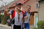 Triatlonový závod Hulmen 2019