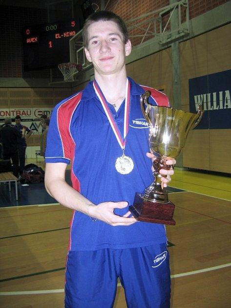 Tomáš Konečný vybojoval premiérové zlato v české extralize.