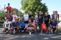 nohejbalový turnaj ve Velkých Těšanech 2017