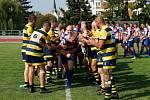 Oslavy 75. výročí založení ragby ve Zlíně, přátelské utkání ragbistů Zlína s národním týmem Slovenska