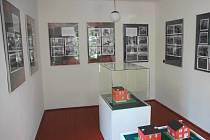 Expozice v Baťovském domku.