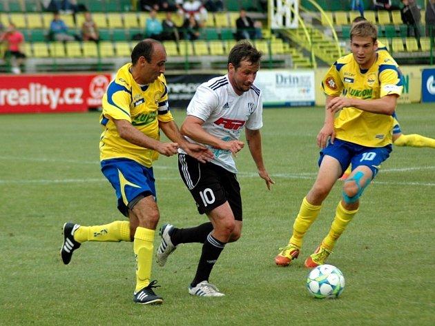 Fastav Zlín - HFK Olomouc. Ilustrační foto.