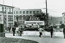 Dobové fotografie ze srpna 1968.