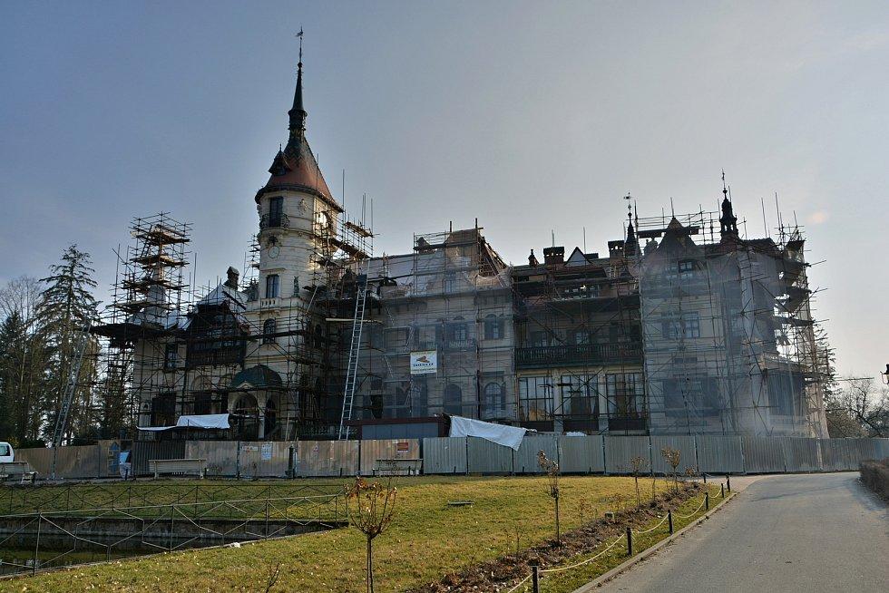 Jaro 2021 se probouzí také v Zoo Zlín. Z důvodu pandemie a nařízení vlády zeje areál prázdnotou. Významné příjmy ze vstupného chybí. Jedinou investiční akcí je oprava střechy zámku.