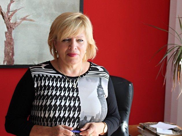Jitka Zezulová, ředitelka Státního okresního archivu vKroměříži