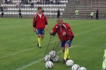 Bývalý profesionální fotbalista Tomáš Dujka.