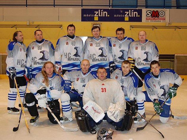 Vítěz minulého ročníku Zlínské amatérské hokejové ligy HC Napajedla.