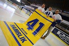 Hokejista Martin Hamrlík vstupuje do síně slávy zlínského hokeje.