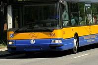Trolejbus zlínské MHD. Ilustrační foto