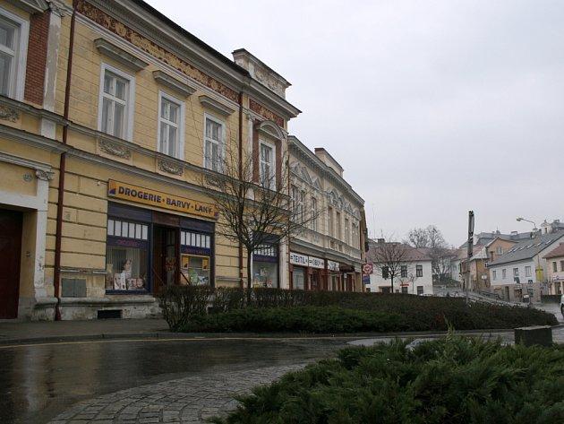 Historická zóna - Vizovice.