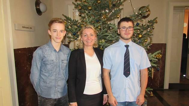 Zástupci školního parlamentu se setkali s náměstkyní primátora