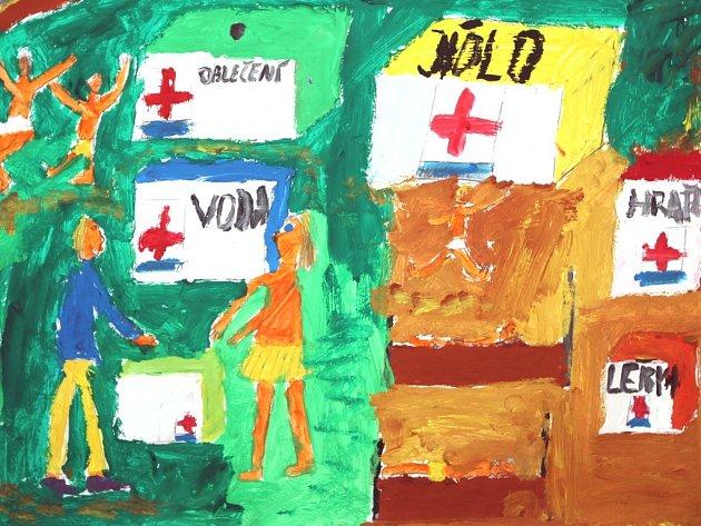 Výstava Děti proti chudobě aneb Lidé by chudí být neměli