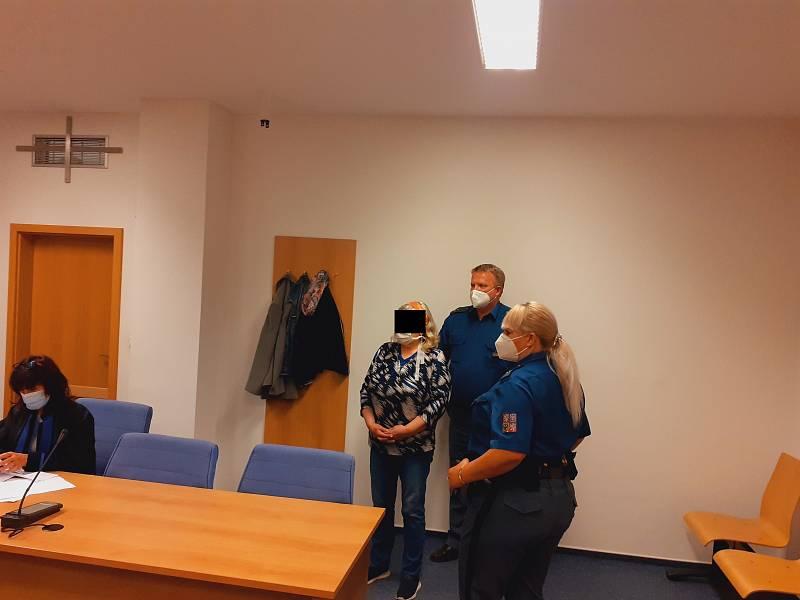Třiašedesátiletá žena stanula před soudem za těžké ublížení na zdraví ve stádiu pokusu již ve třetím případě.