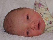 Julie Takosová  28.3.2012   48 cm   2750 g   Zlín