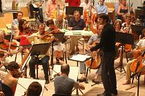 Filharmonie Bohuslava Martinů hostit mezinárodní dirigentské kurzy. Kongresové centrum ve Zlíně.