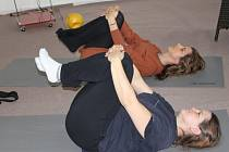 Cvičení s trenérkou