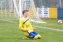 Talentovaný fotbalista Zlína Patrik Hellebrand.