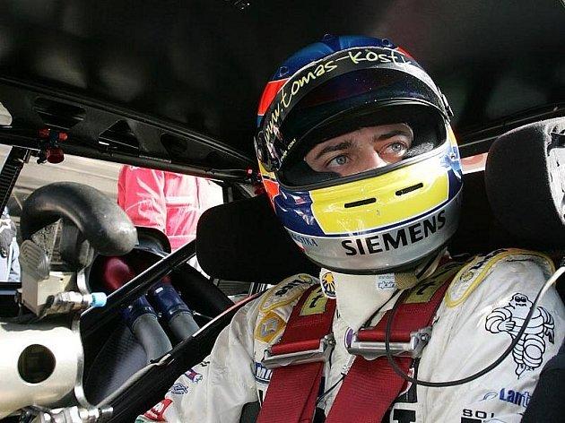 Pilot Tomáš Kostka.