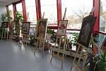 """Výstava Milana """"Milouška"""" Smolky v Otrokovické Besedě"""