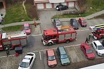 Připálený guláš si ve Zlíně na Jižních svazích vyžádal zásah všech složek IZS.Foto zdroj:MP Zlín.