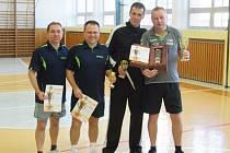 Vánoční turnaj ve stolním tenise ve Štítné nad Vláří Foto. autor