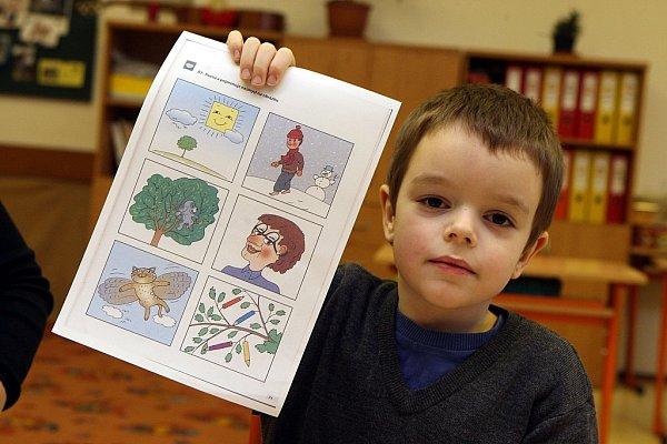 Zápis dětí do základních škol ve Zlíně.