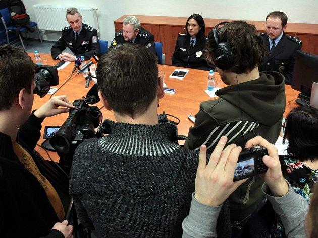 Krajské ředitelství policie Zlínského kraje. Ilustrační foto