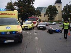 Dopravní nehoda ve Vizovicích