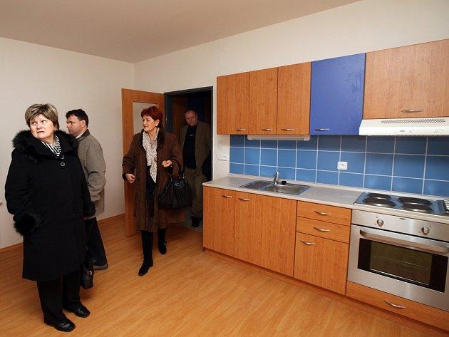 Nově otevřený Dům s pečovatelskou službou ve Zlíně-Malenovicích.