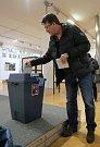 Prezidentské volby 2018 volební okrsek Zlín 1