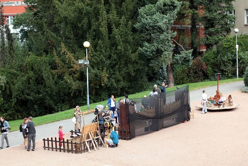 Žijeme středověkem v parku u zlínského zámku