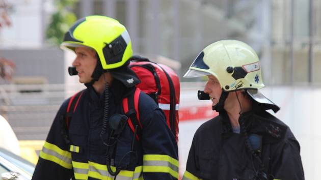 Taktické cvičení hasičů. Ilustrační foto