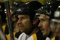 Zkušený 39letý hokejový obránce Kroměříže Pavel Rajnoha