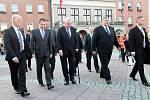 Návštěva prezidenta Miloše Zemana. Setkání s s občany Zlína.